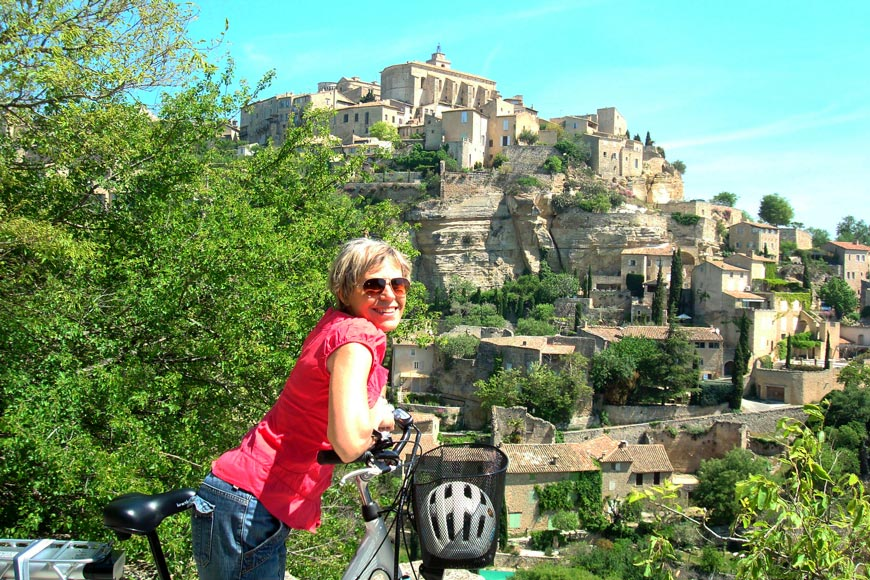 A cycling holiday in France