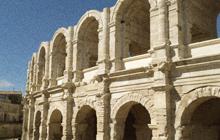 arles roman city coliseum