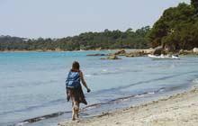 costal walk cabasson beach