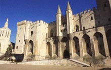 pont Avignon pope palace provence