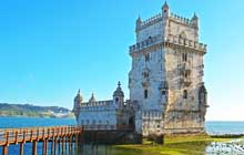 portugal walking trails to belem