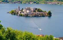 self guided tours of italy on the italian lakes in orta san giulia